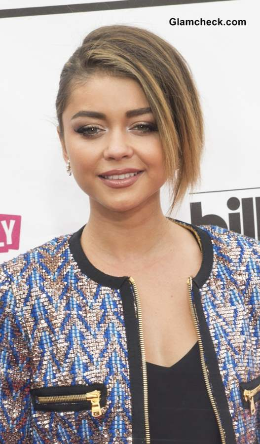 Sarah Hyland Hairstyle at 2014 Billboard Music Awards