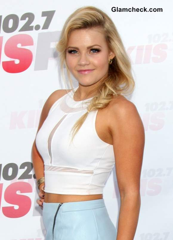 White Cropped Top Witney Carson 2014