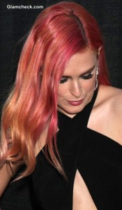 Rumer Willis Debuts Tri-Colour Locks