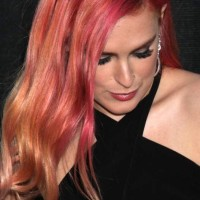 Celebrity Hair Color 2014 Rumer Willis Debuts Tri-Colour Locks