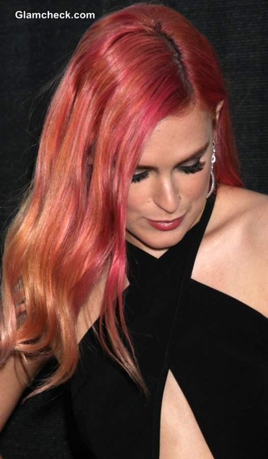 Celebrity Hair Color 2014 Rumer Willis Debuts Tri-Colour Locks