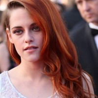 Kristen Stewart Orange Hair at Cannes 2014