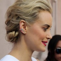 Taylor Schilling Hairstyle 2014