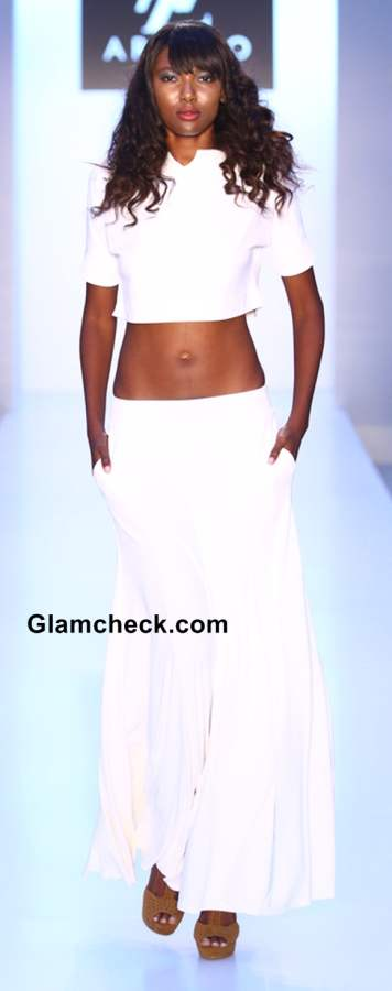 All white Beach Wear 2014