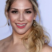 Allison Holker Shows Off Darker Roots with Blonde Locks
