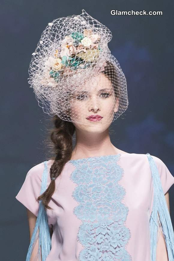 Bridal Headgear Trends 2015 Matilde Canos Bridal Collection 2015