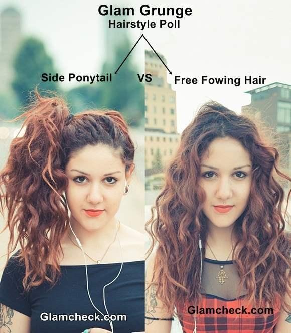 Glam Grunge Hairstyle Ideas