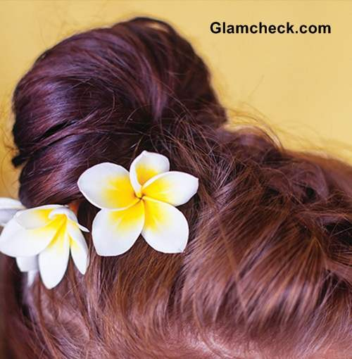Hairstyle DIY -French Braid Top knot Steps