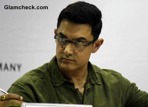 Aamir Khan at the launch of My Marathi