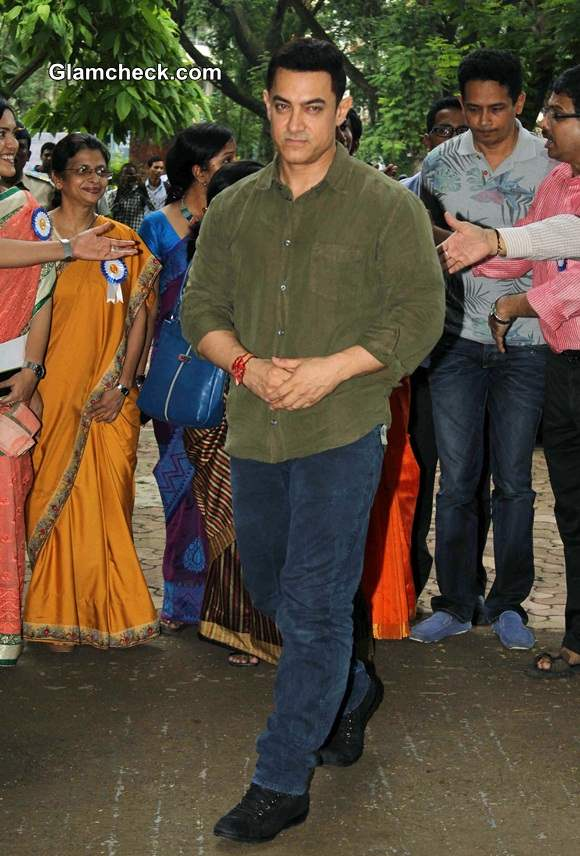 Aamir Khan for the launch of My Marathi