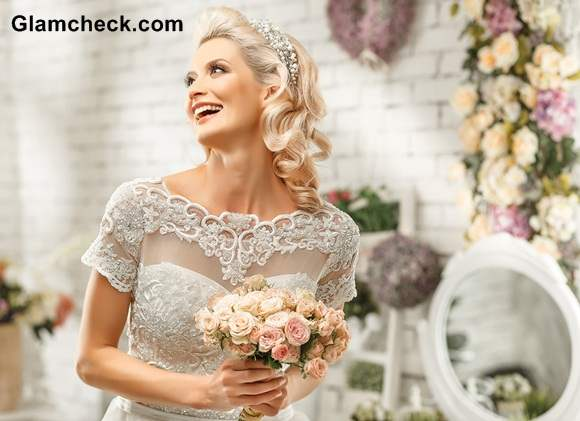 Bridal Gowns Neckline ideas Portrait- Illusion neckline