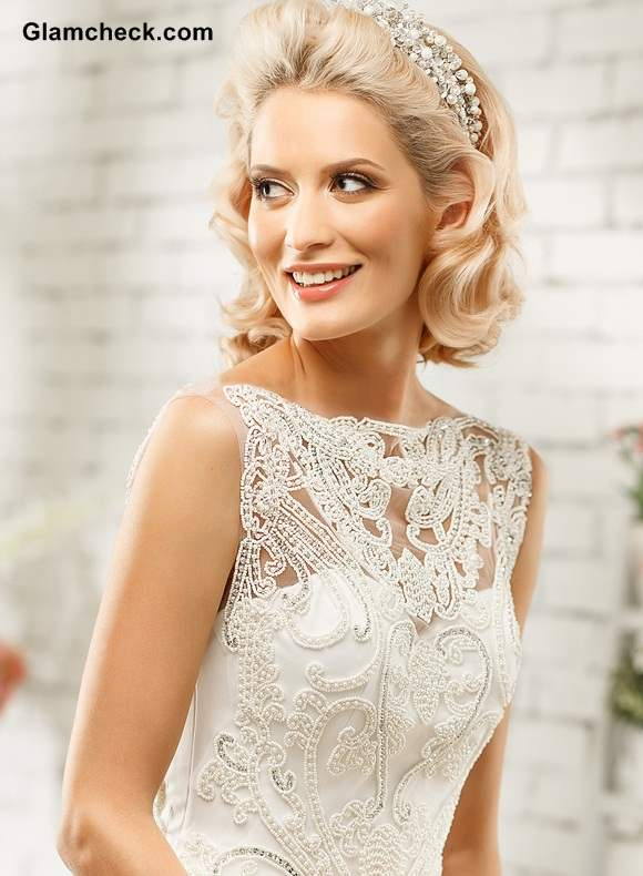 Bridal Gowns with Bateau or Boat- Shape Neckline