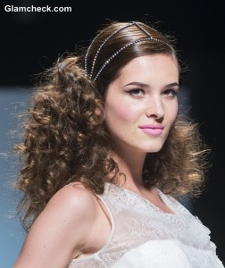 Bridal Hair Trends 2015 – Captivating Tresses in Romantic Contrasts