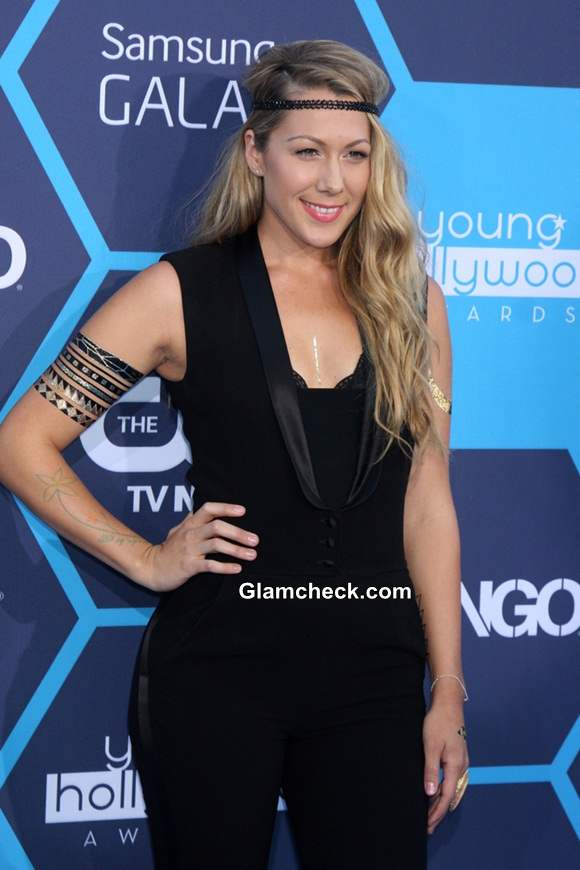 Colbie Caillat at the Young Hollywood Awards 2014