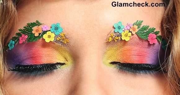 Decorated Eyebrows Fantasy Eye Makeup