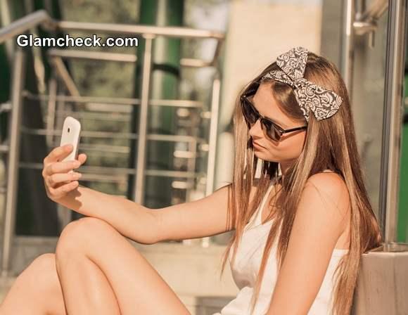 Hair Accessory Bow Head Wrap