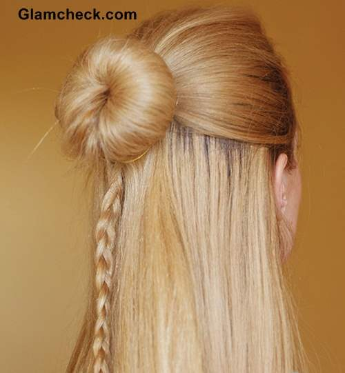 Hairstyle HoHairstyle How To - Cinderella Braid Knot bunw To - Cinderella Braid Knot bun