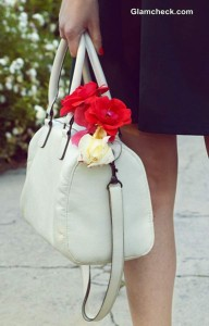 Style Tip of The Day – Jazz up your Bag with Flowers