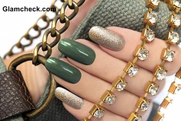 Moss Green Nail Paint Color