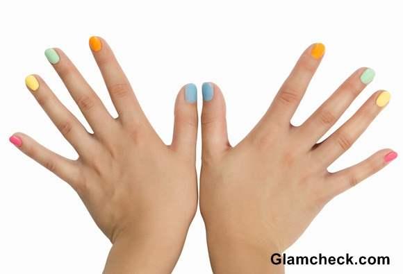 Pastel Nail Paint colors
