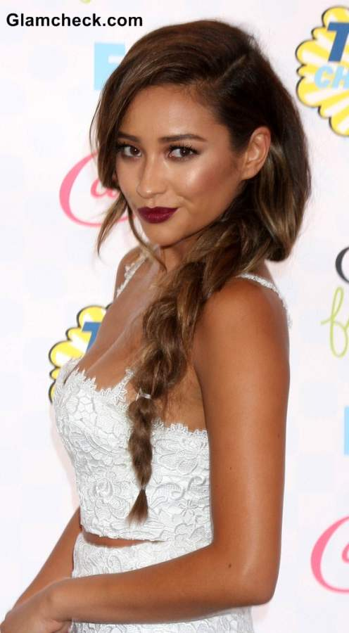 Side Braids Hairstyle Shay Mitchell
