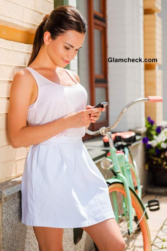 Summer Fashion All White Look