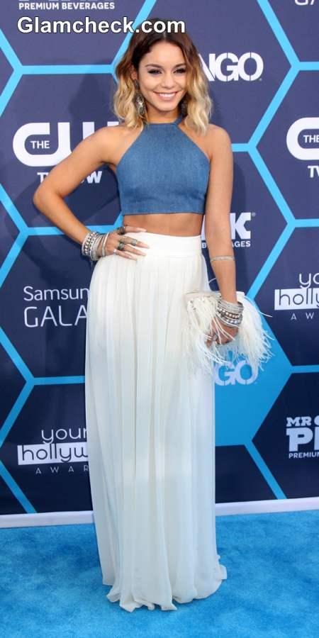 Vanessa Anne Hudgens at the Young Hollywood Award 2014