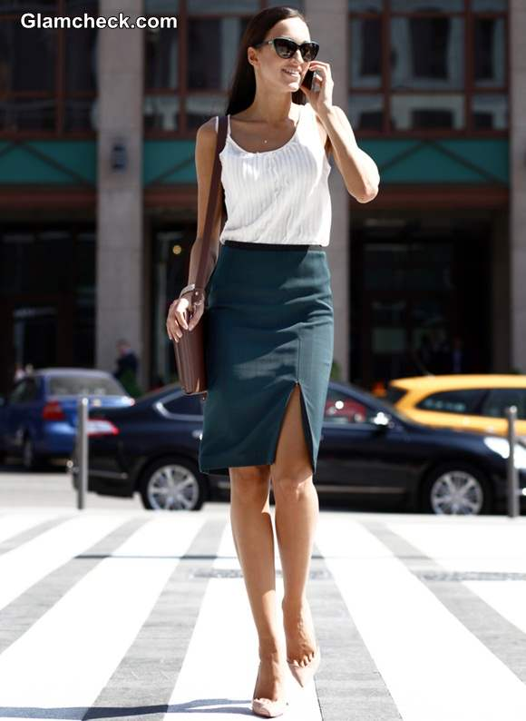 Workplace Fashion - Uber chic Formal Look