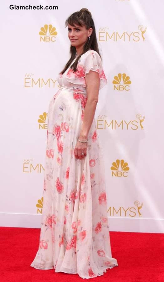Amanda Peet at the 2014 Primetime Emmy Awards