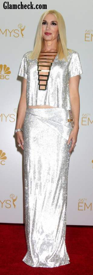 Gwen Stefani at the 2014 Primetime Emmy Awards