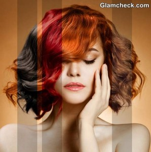 How to sport Brunette and Red Hair Color