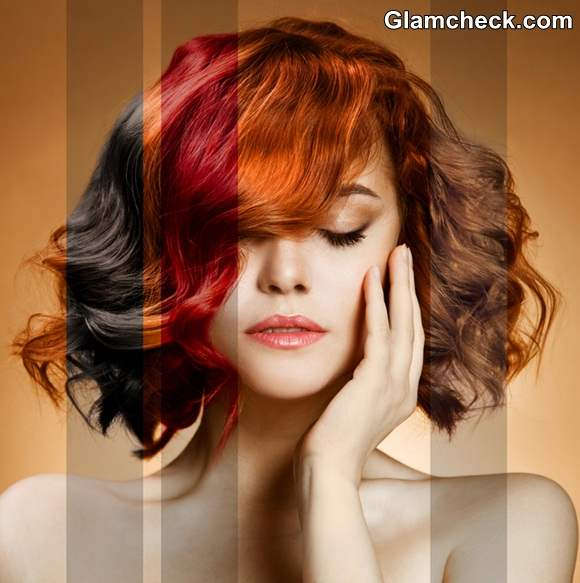 Hair Color Inspirations How To Sport Brunette And Red Hair Color