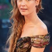 Side Fishtail Braid Cristiana Capotondi 2014 La Rancon De La Gloire Premiere