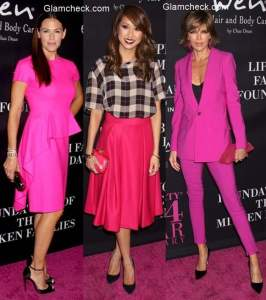 Pink Dresses – Best dressed celebs at the Pink Party 2014