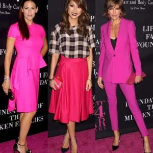 Celebs in Pink
