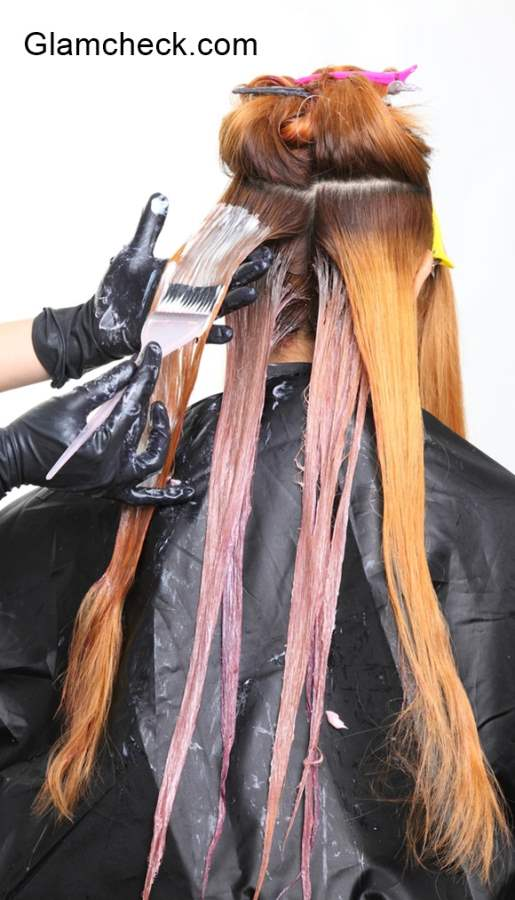 Hair Colouring Tips and Precautions