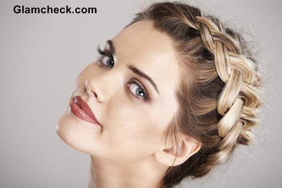 How to Make Crown Dutch Braid