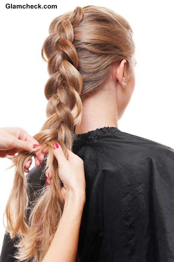 How to Make Dutch Braid