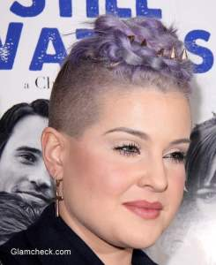 "Kelly Osbourne Sports Edgy Braided Mohawk at ""Besides Still Waters"" Premiere"