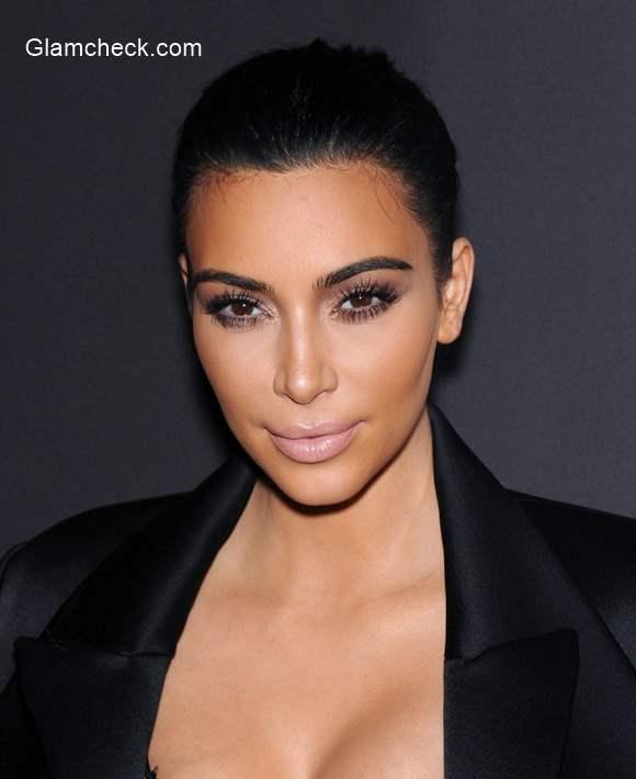 Kim Kardashian Nude Makeup