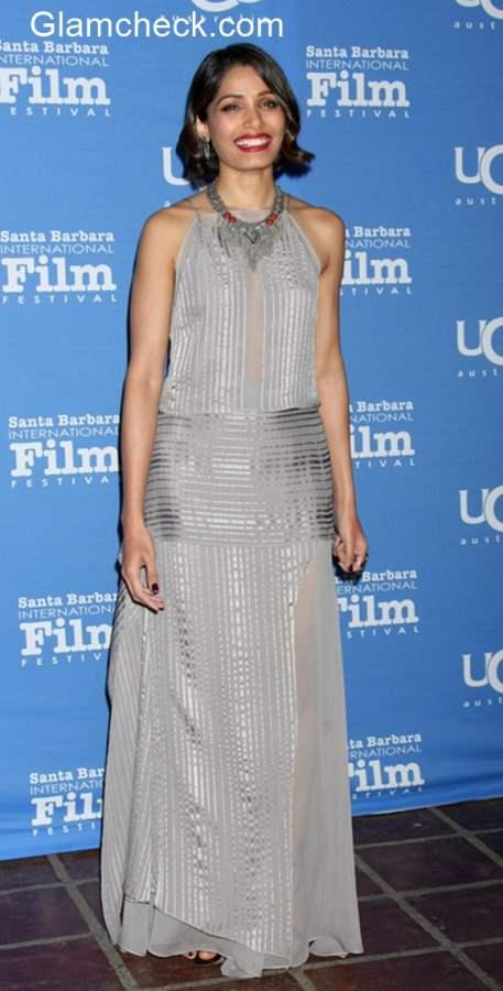 Freida Pinto at 2015 Santa Barbara International Film Festival