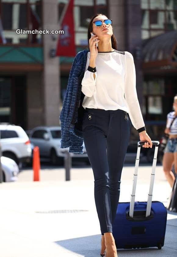 Corporate Jetsetter Look in Formal trousers