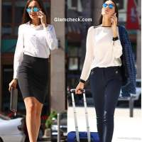 Corporate Style Poll Divide Pencil Skirt or Formal Trousers