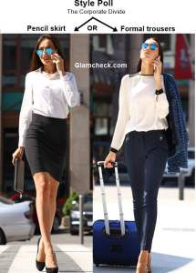 Pencil Skirt or Formal Trousers – The Corporate Divide