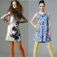 Summer Chic Looks - Styling With Colorful Stockings