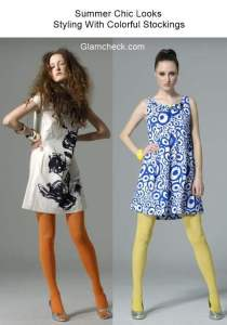 Colorful Stockings – Summer Chic Looks