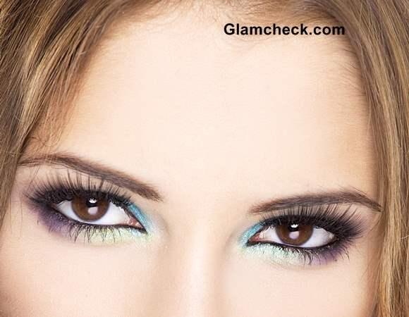80s eye makeup look