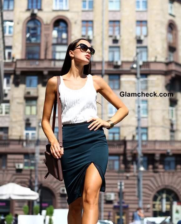 Fashion Sport chic Tube Skirt at Work