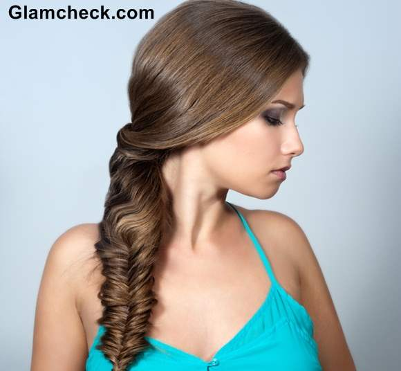 Styling Fishtail Braid