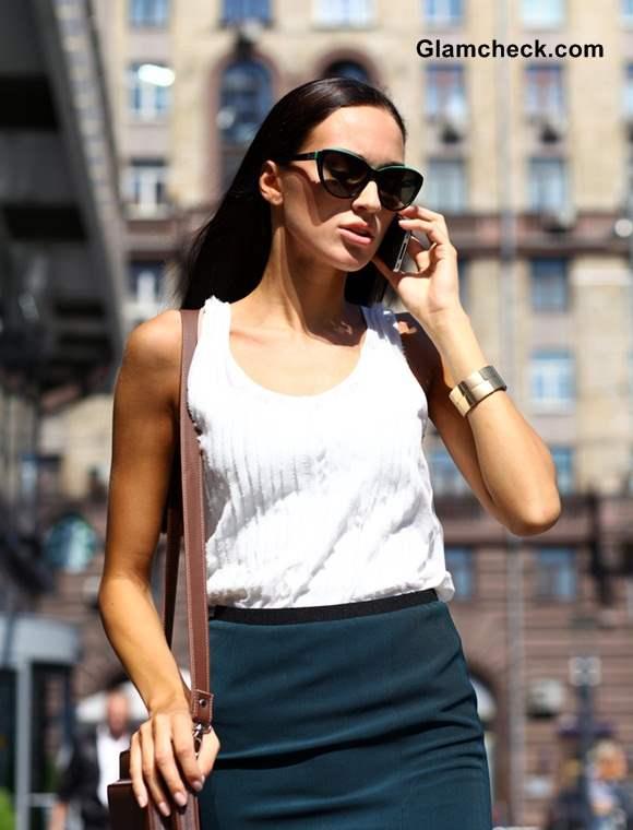 Tube Skirt for Office Wear Summer